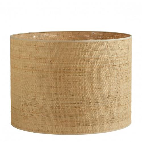 Abat-jour cylindrique raphia - Diam. 55 cm