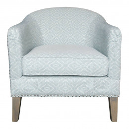 Fauteuil ERICK turquoise