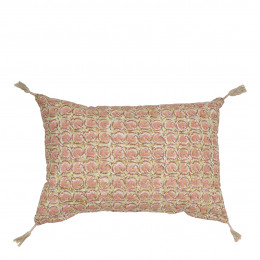 Coussin FLORA rose