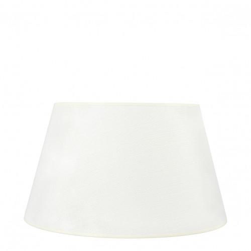 Abat-jour conique écru - Diam. 45 cm