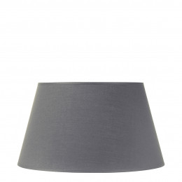 Abat-jour conique gris - Diam. 45 cm