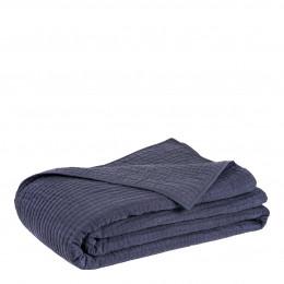 Dessus de lit GABY bleu nuit - 260 x 240 cm