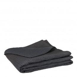 Dessus de lit GABY gris foncé - 260 x 240 cm