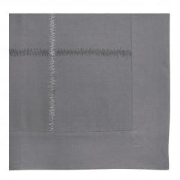 Housse de couette GABRIELLE ardoise - 260 x 240 cm